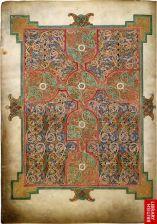 Matthew Cross Carpet Page from Lindisfarne Gospels