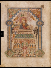 Temptation Page from Book of Kells