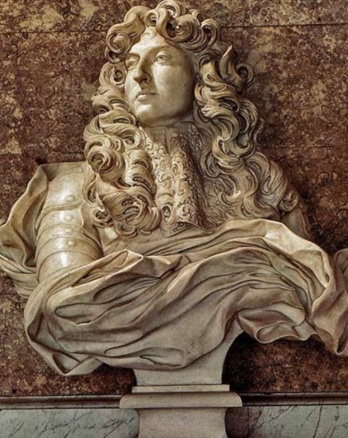 Bust of Louis XIV, Bernini, 1665