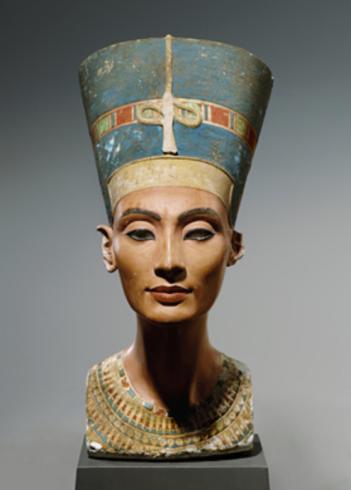 Bust of Nefertiti, Thutmose, 1345BC